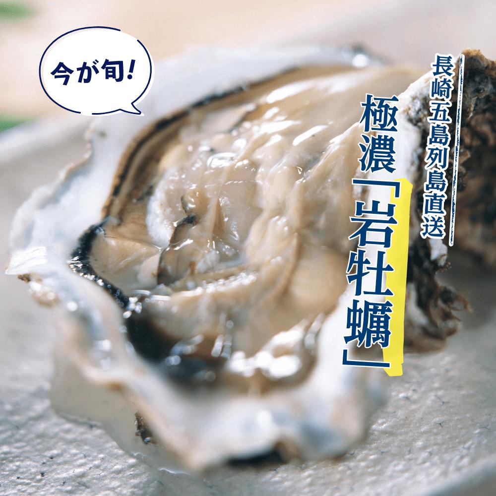 長崎五島列島直送 極濃「岩牡蠣」